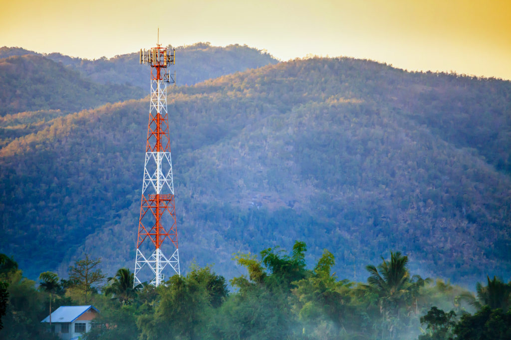 cell tower location