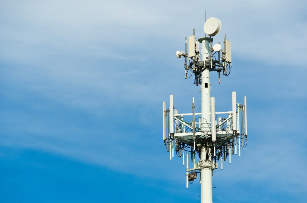 how to get a cell tower on your property